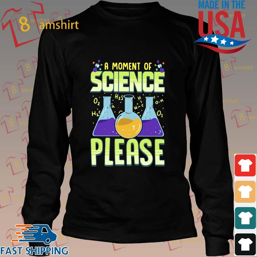 A moment of science please s Long den