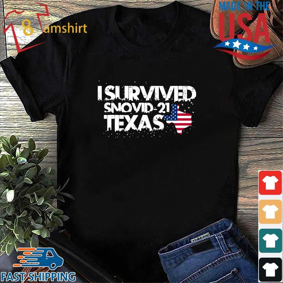 America I survived snovid-21 Texas shirt
