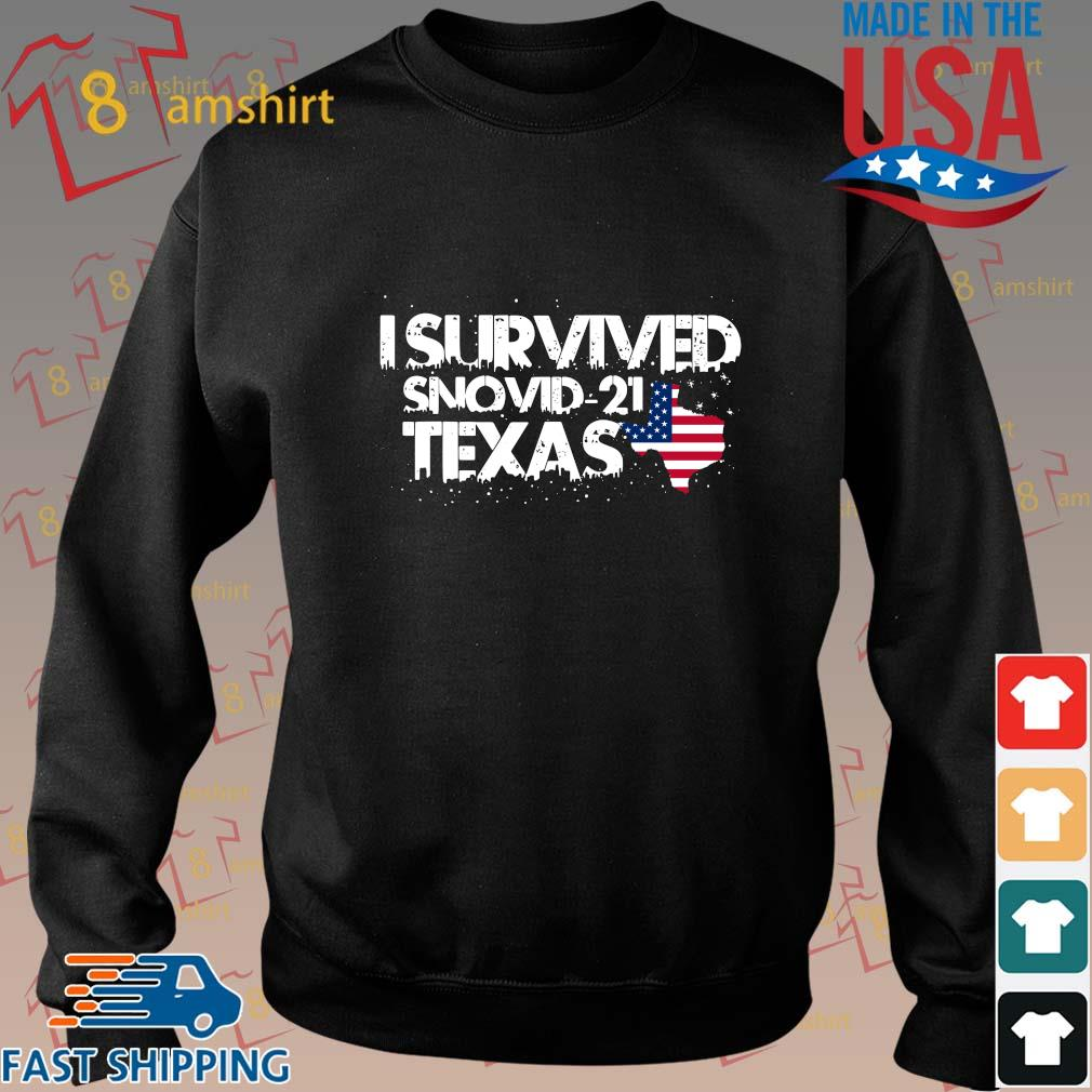 America I survived snovid-21 Texas s Sweater den