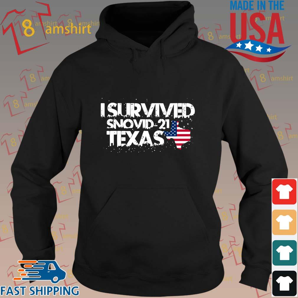 America I survived snovid-21 Texas s hoodie den