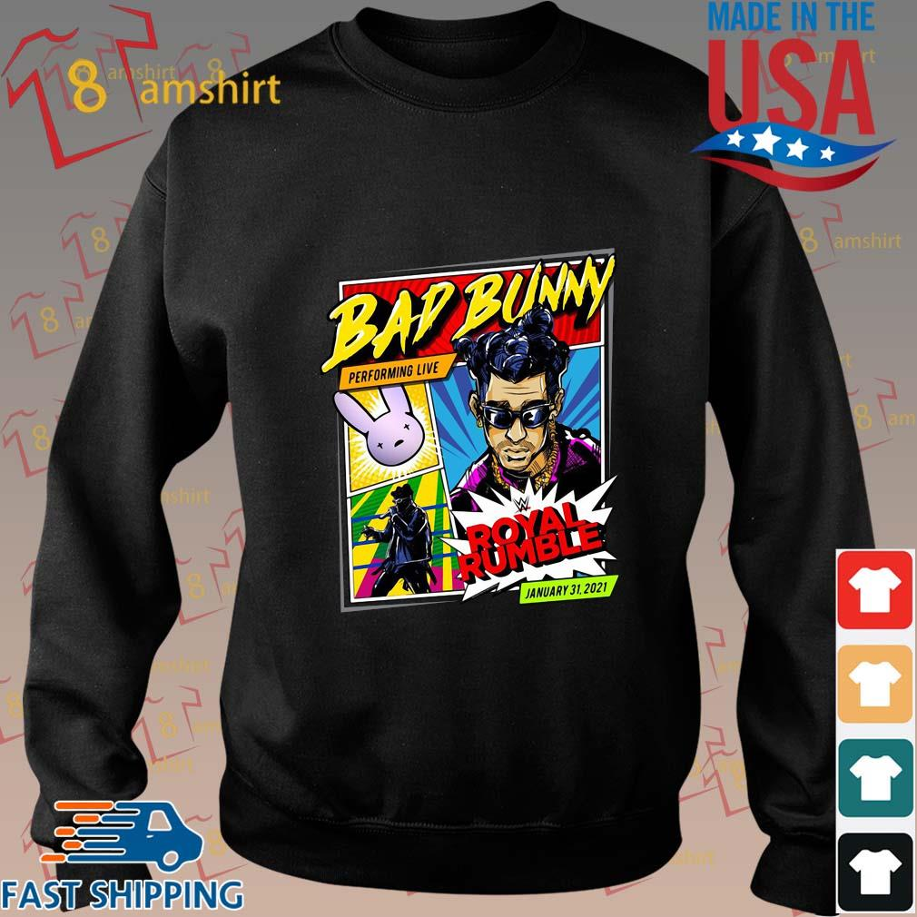 'Bad Bunny X Royal Rumble 2021 Special Edition Shirt Sweater den