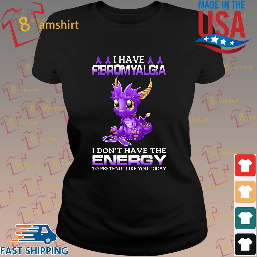 Dragon I have fibromyalgia I don't have the energy to pretend I like you today s ladies den