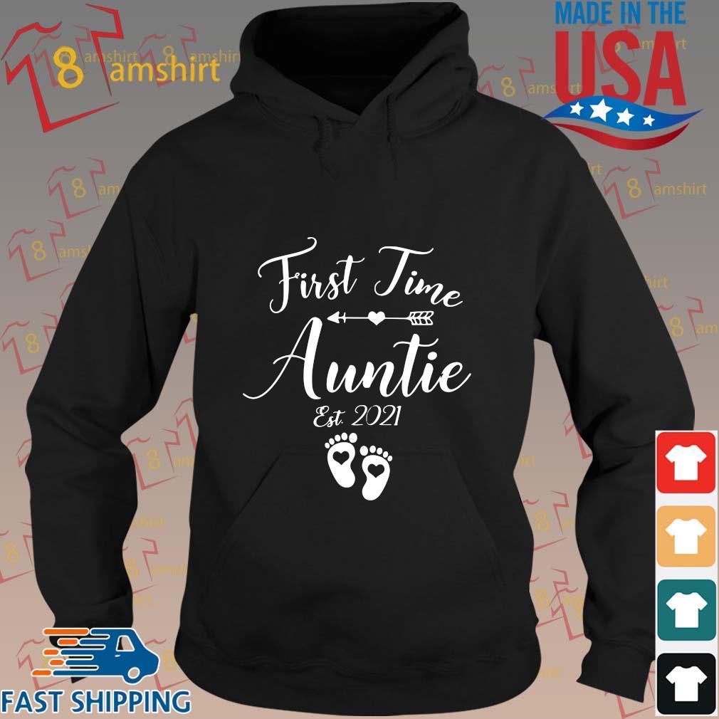 First time auntie est 2021 s hoodie den