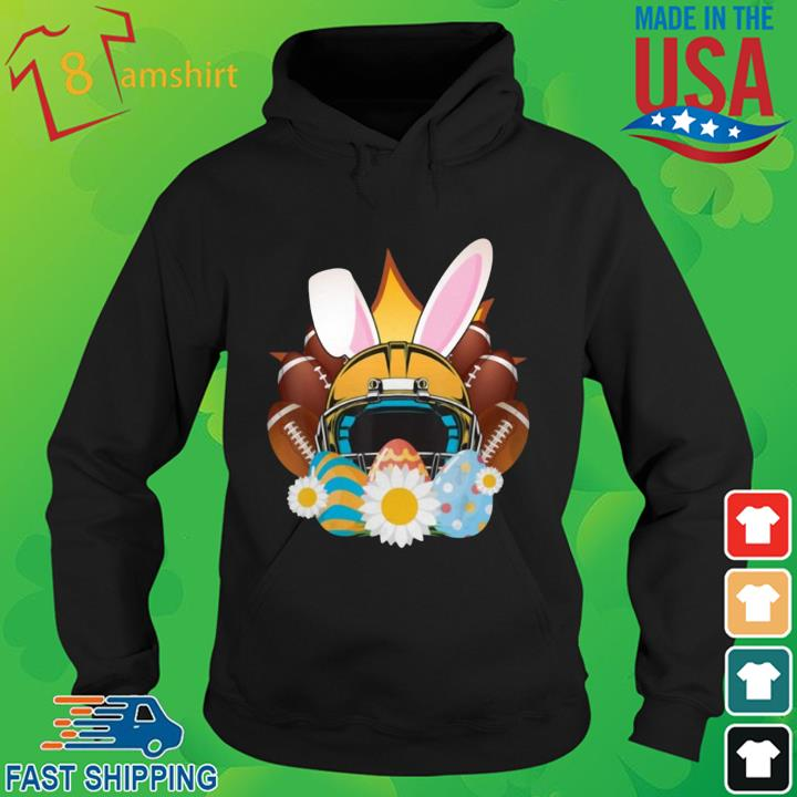 Football Easter Bunny Egg Shirt hoodie den