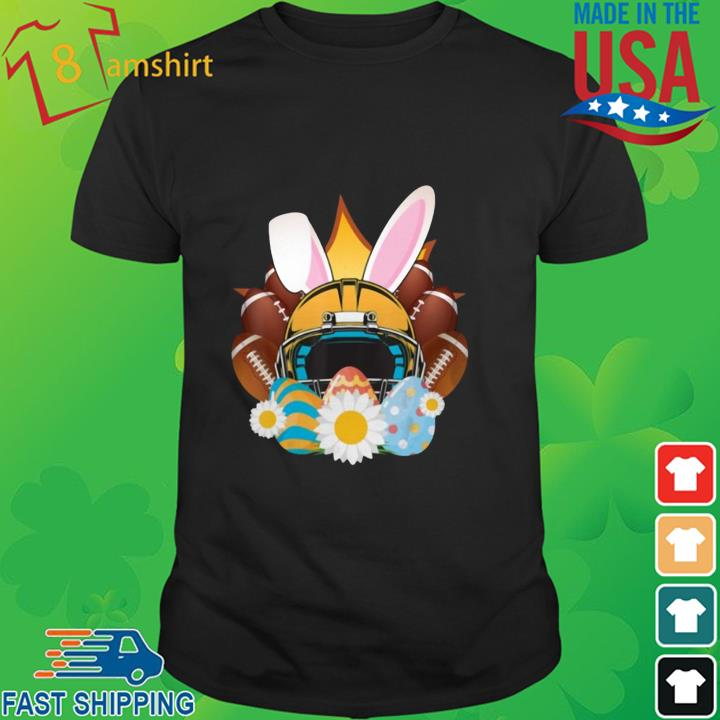 Football Easter Bunny Egg Shirt
