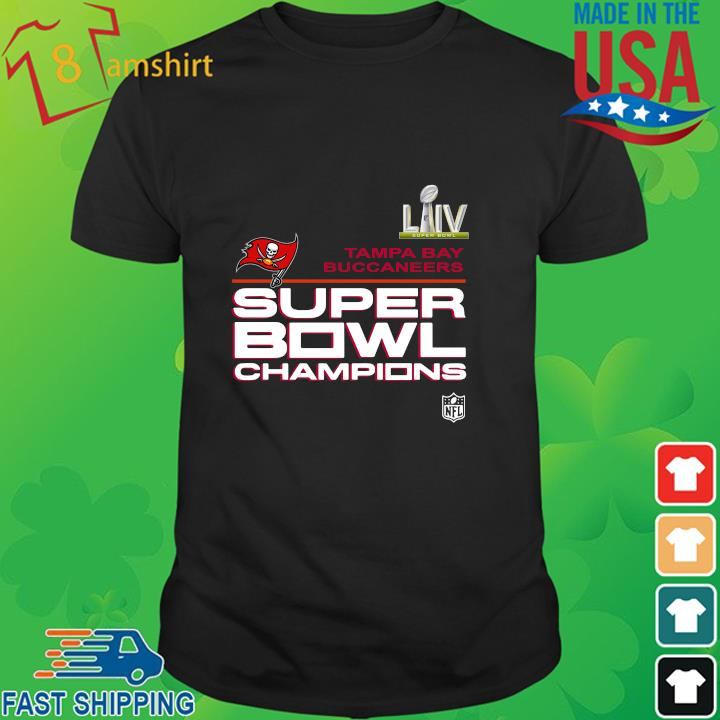 LIIV Tampa Bay Buccaneers super bowl Champions shirt