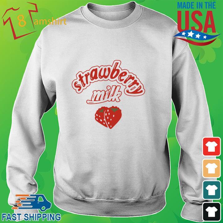 Strawberry milk sweater trang