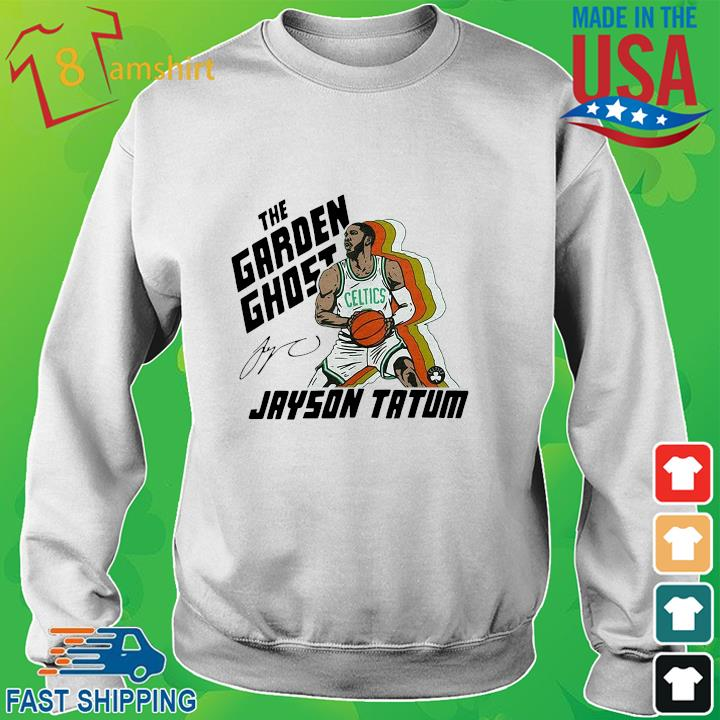The garden ghost Jayson Tatum signatures sweater trang