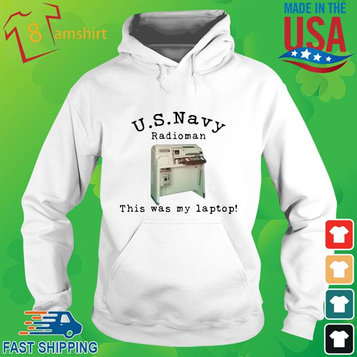 US Navy radioman this was my laptop hoodie trang
