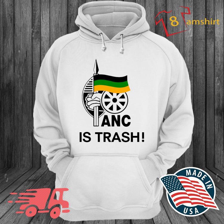 Anc is trash s hoodie trang