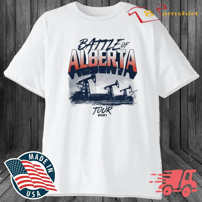 Battle Of Alberta Tour 2021 Shirt