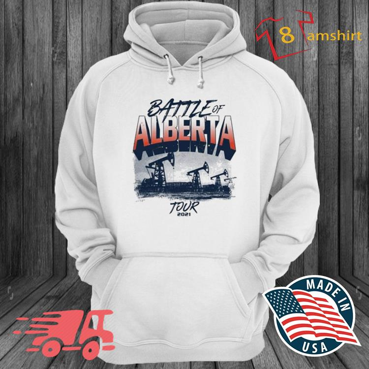Battle Of Alberta Tour 2021 Shirt hoodie trang