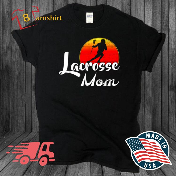 Lacrosse Mom Vintage Sunset Shirt
