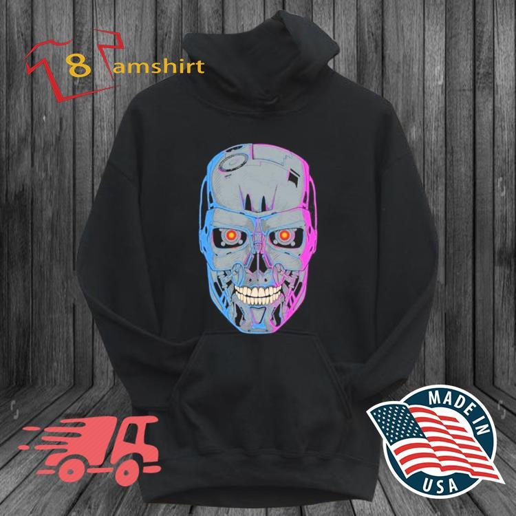 Terminator Skull T-800 Shirt hoodie den