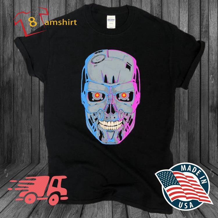 Terminator Skull T-800 Shirt
