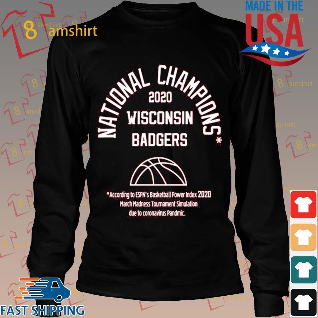 2020 National Champions Wisconsin Badgers Shirt Long den