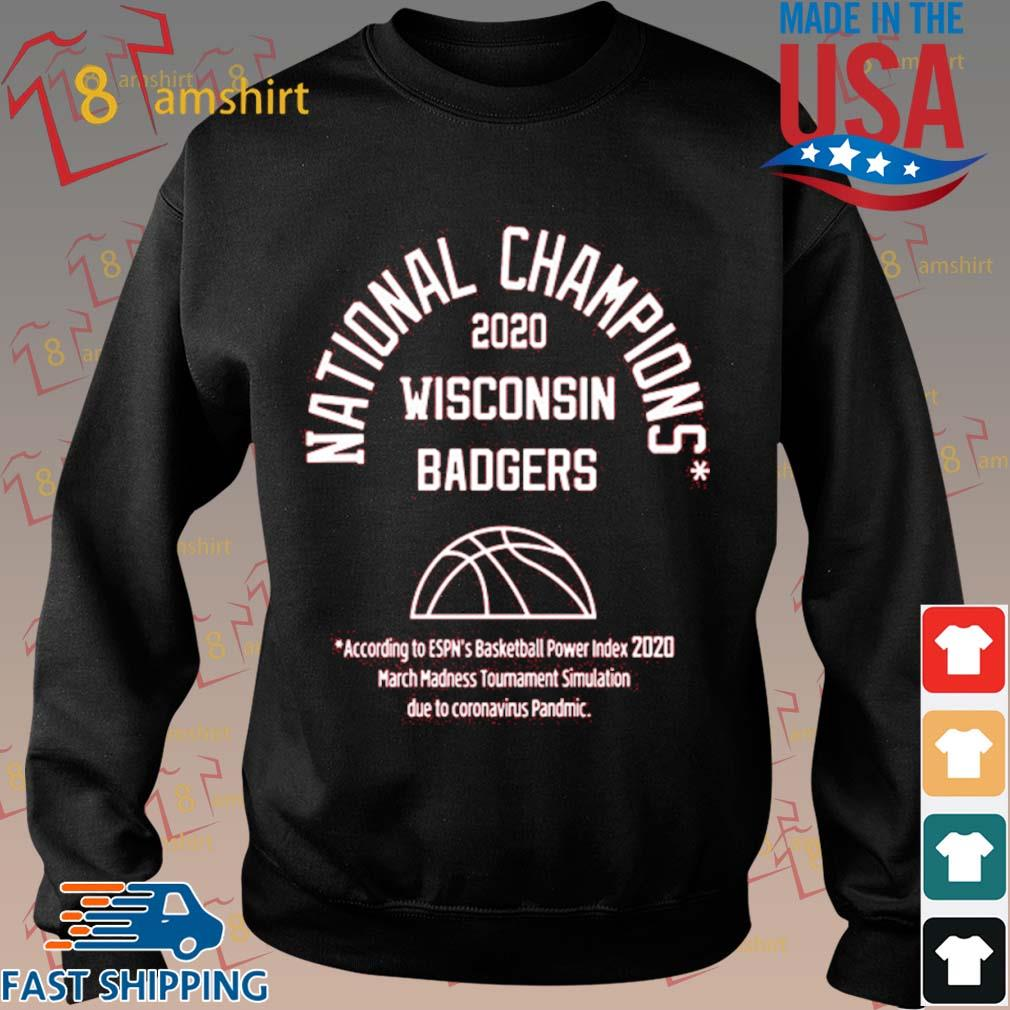 2020 National Champions Wisconsin Badgers Shirt Sweater den