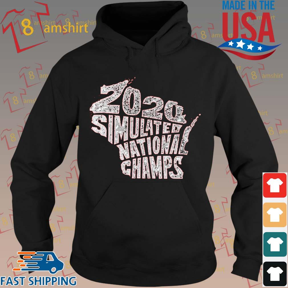 2020 Simulated National Champs Shirt hoodie den