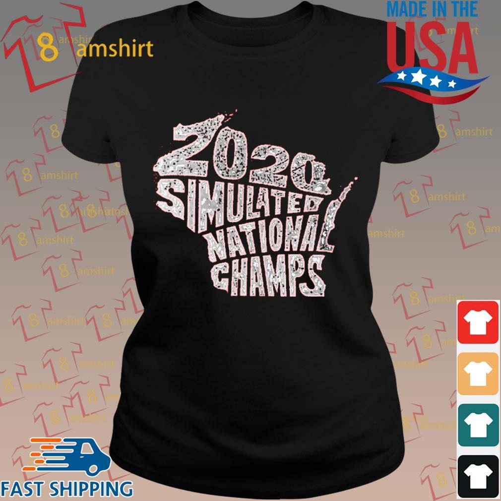 2020 Simulated National Champs Shirt ladies den