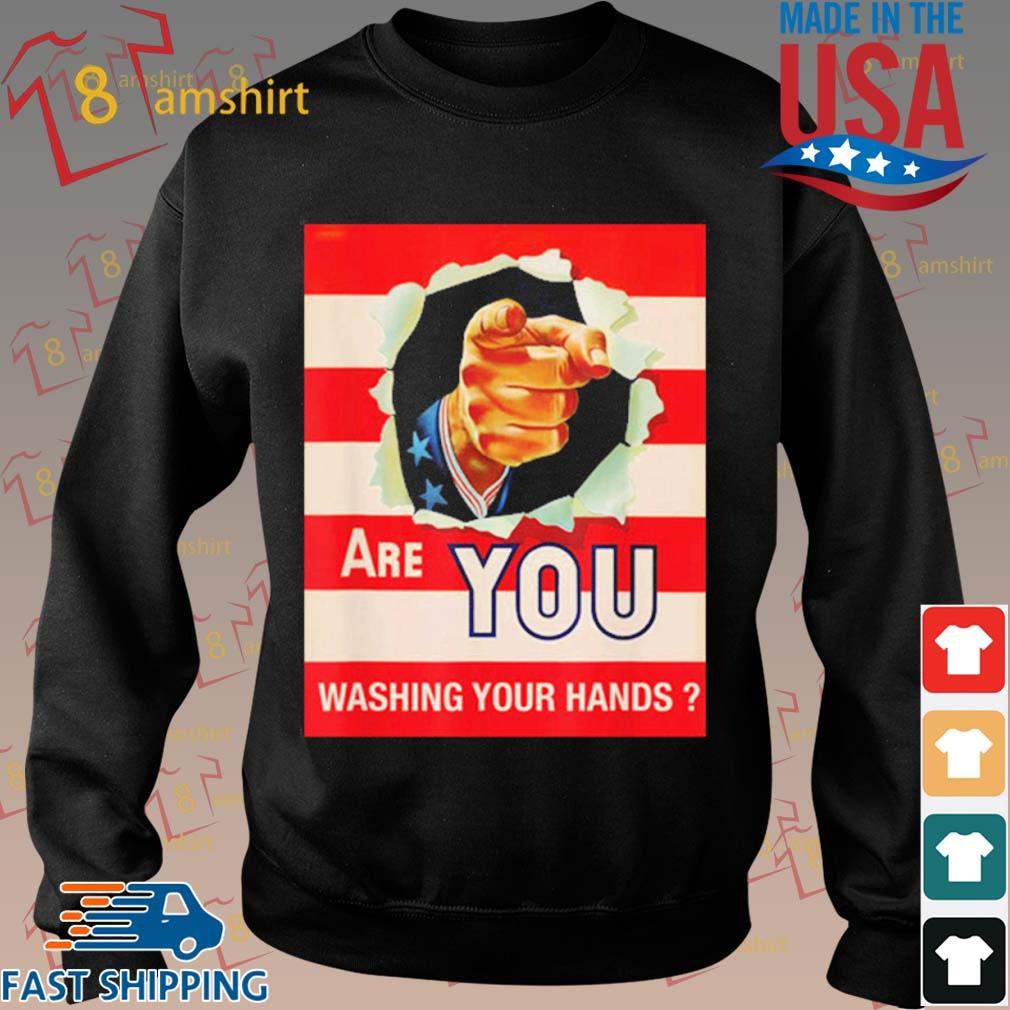 Are You Wash Your Hands Shirt Sweater den