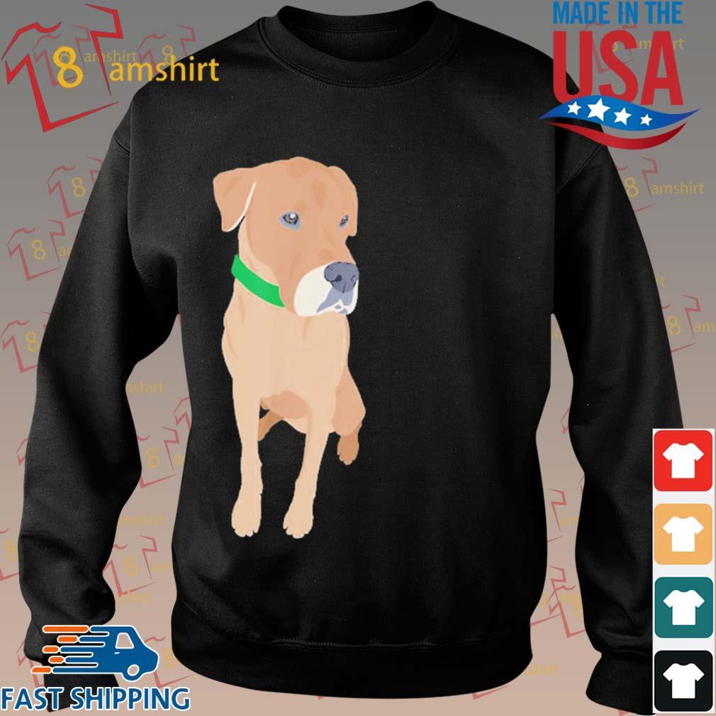 Buster the Labrador Retriever Dog Shirt Sweater den