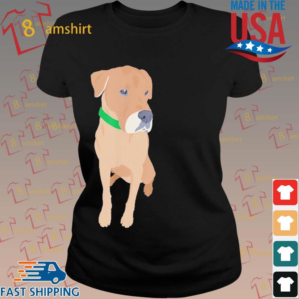 Buster the Labrador Retriever Dog Shirt ladies den