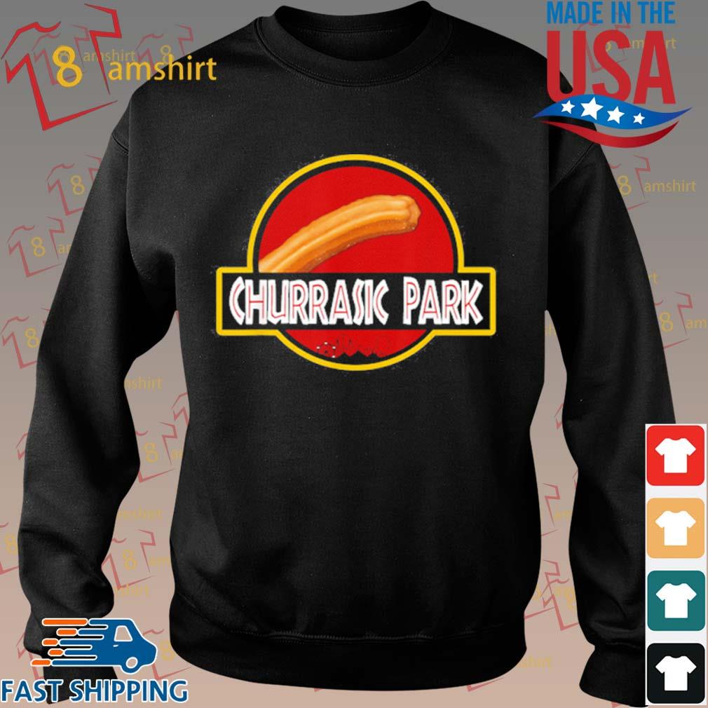 Churrasic Park Monster Churro Funny Mexican Shirt Sweater den