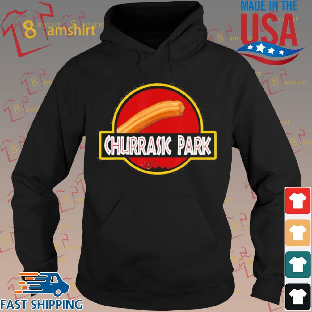 Churrasic Park Monster Churro Funny Mexican Shirt hoodie den