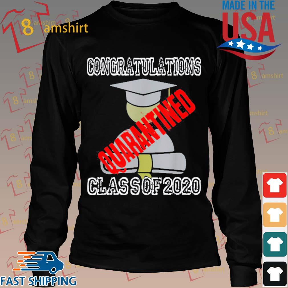 Class Of 2020 Graduating Class In Quarantine Shirt Long den