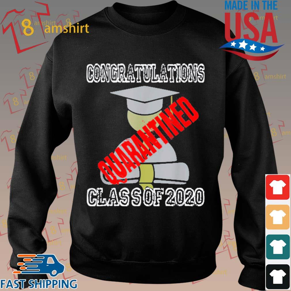 Class Of 2020 Graduating Class In Quarantine Shirt Sweater den