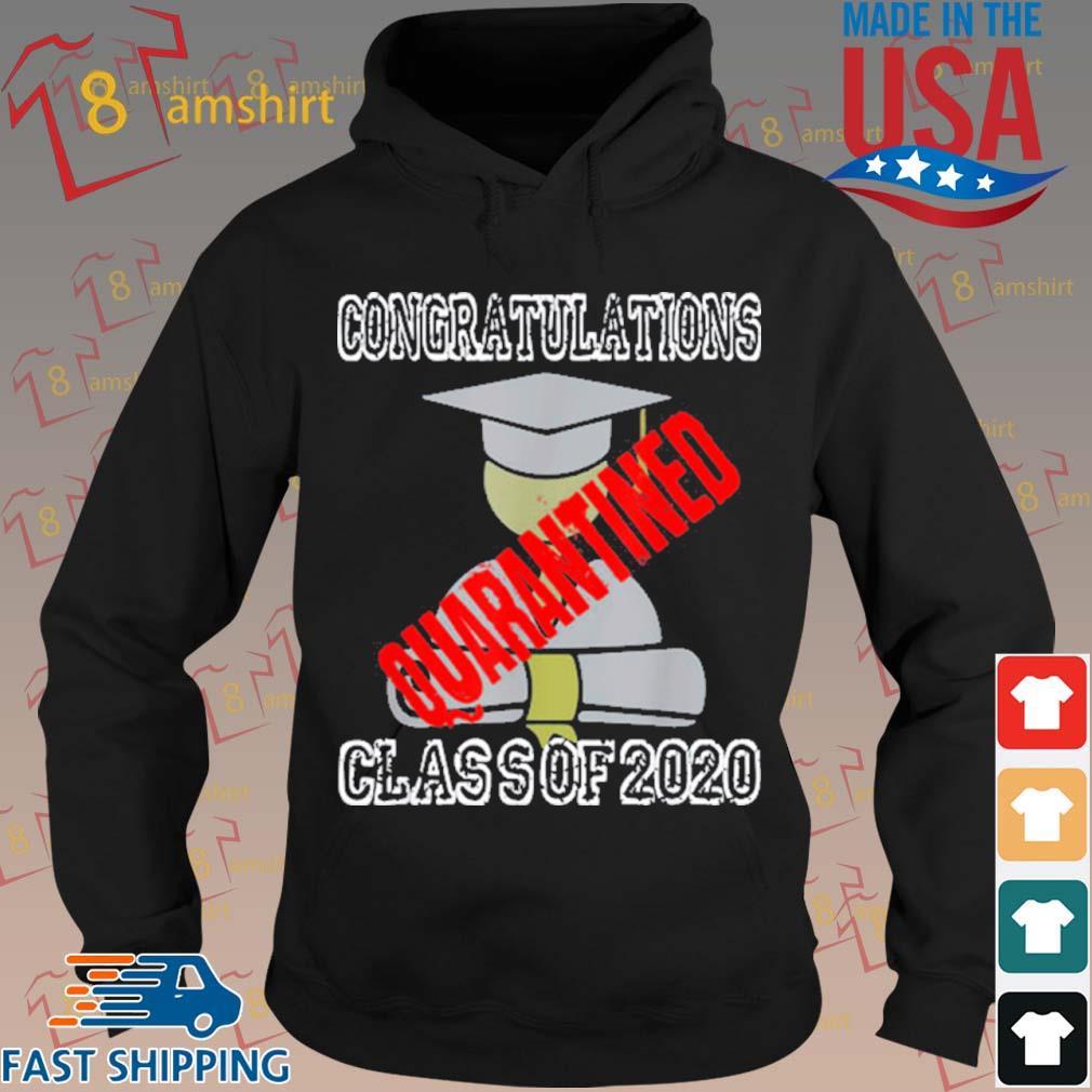 Class Of 2020 Graduating Class In Quarantine Shirt hoodie den