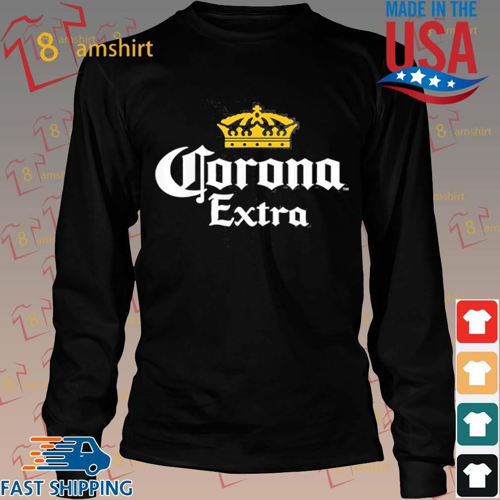Corona Gold Crown Graphic 2020 Shirt Long den