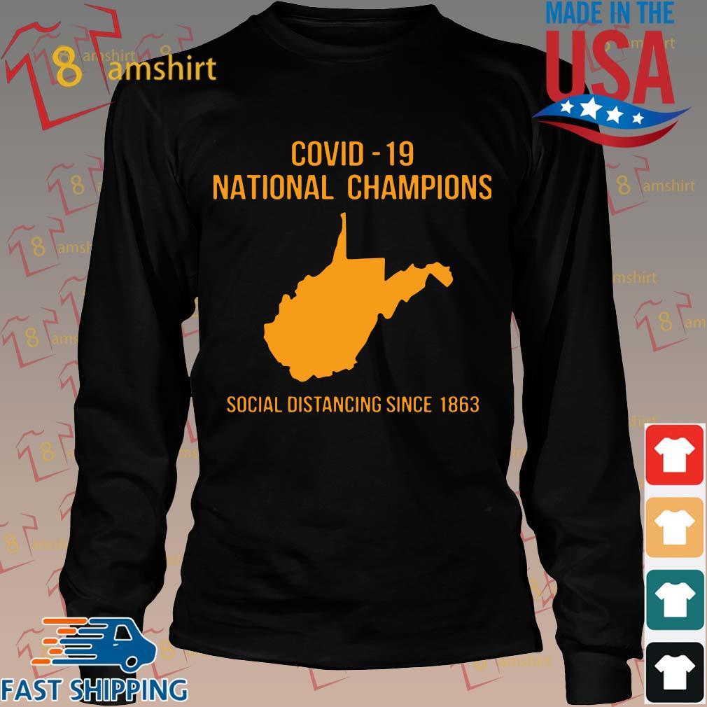 Covid 19 national champions Tee Shirts Long den