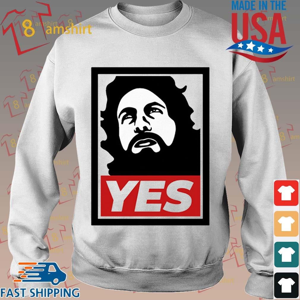 Daniel Bryan Yes Shirt Sweater trang