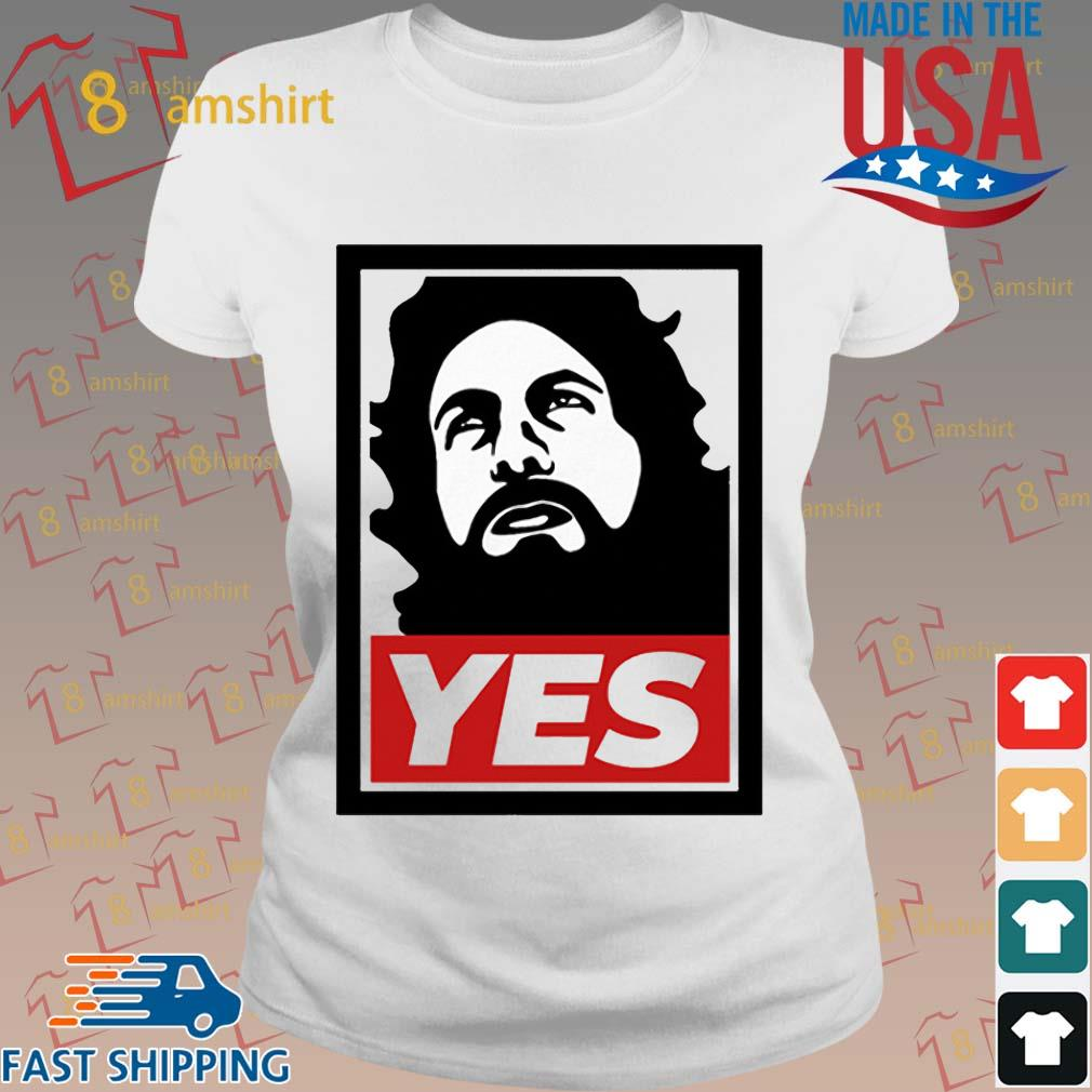 Daniel Bryan Yes Shirt ladies trang