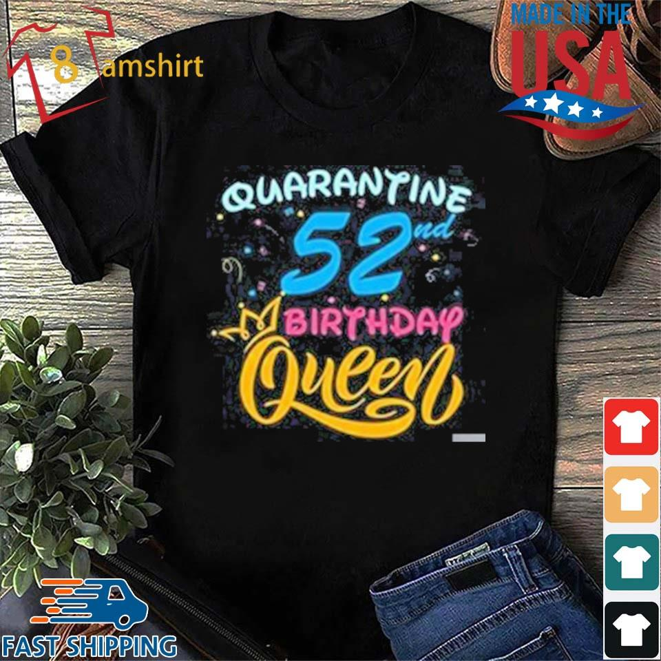 50th Birthday Shirts 1970 Fifty Happy Birthday 2020 The One Where I was Quarantined Funny Quarantine Unisex T Shirt