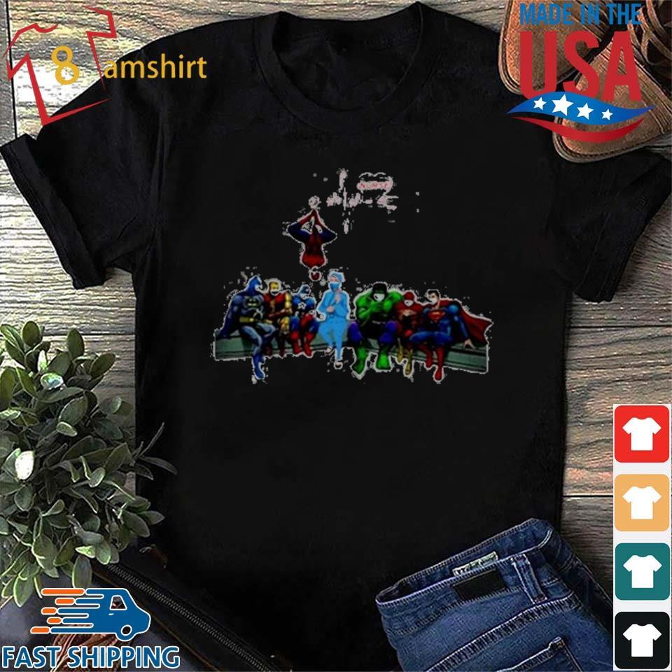 I'm A Nurse Covid19 And Superheroes 2020 T-Shirt
