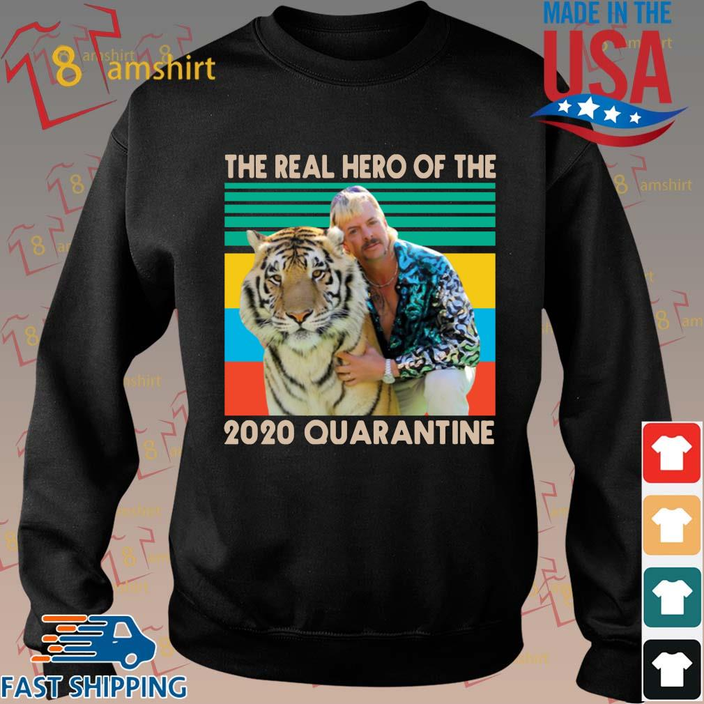 Joe Exotic The Real Hero of The 2020 Quarantine Vintage T-Shirt