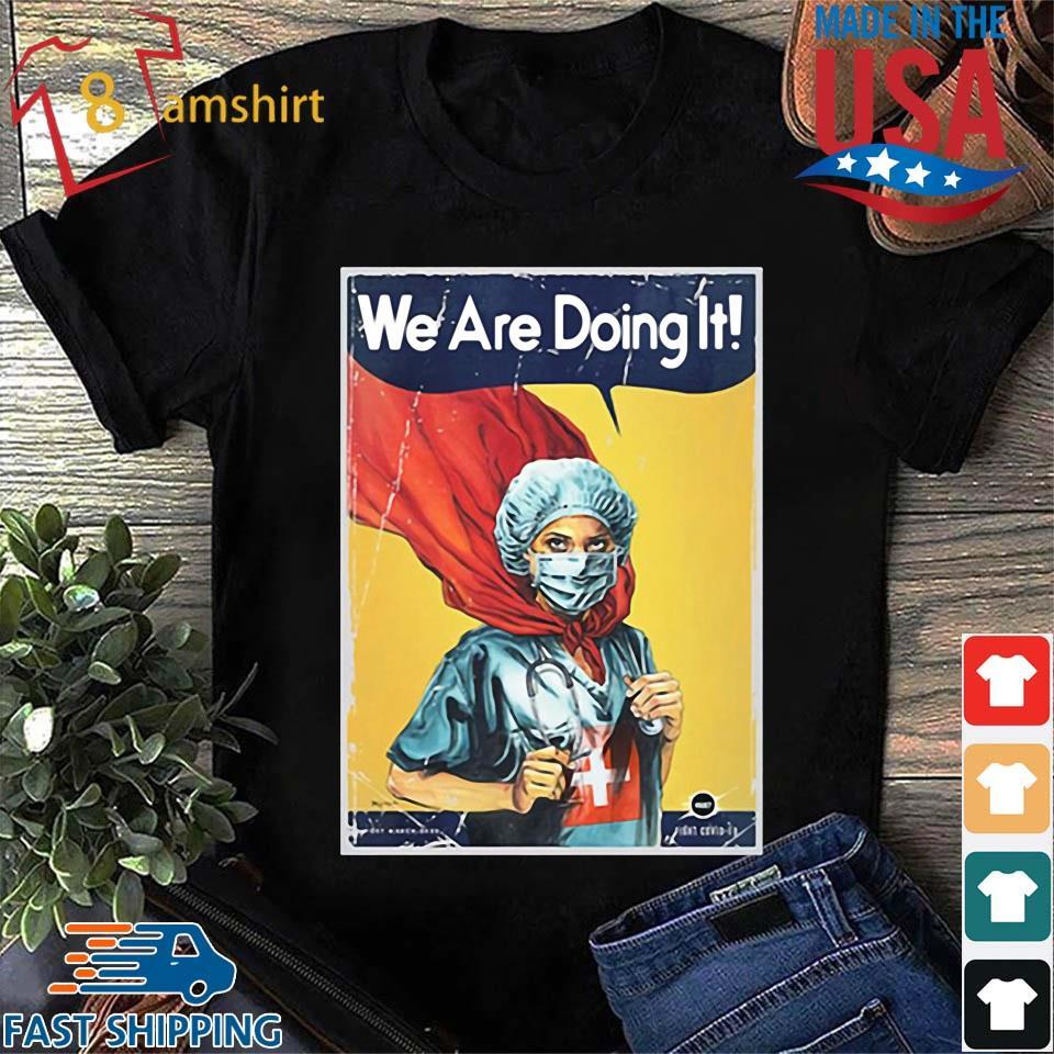 Vault Comics We Are Doing It Tee Shirts