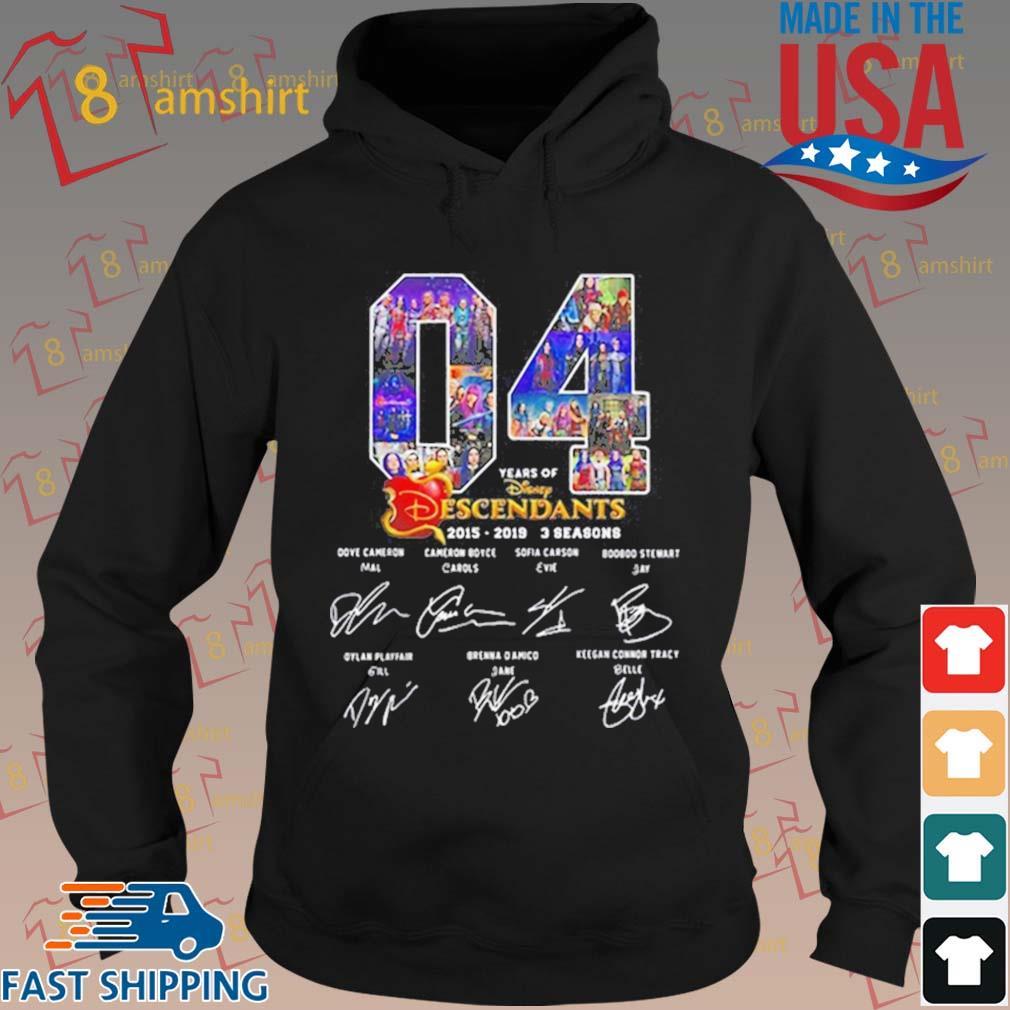 04 Years Of The Descendants 2019-2019 3 Seasons Signatures shirts hoodie den
