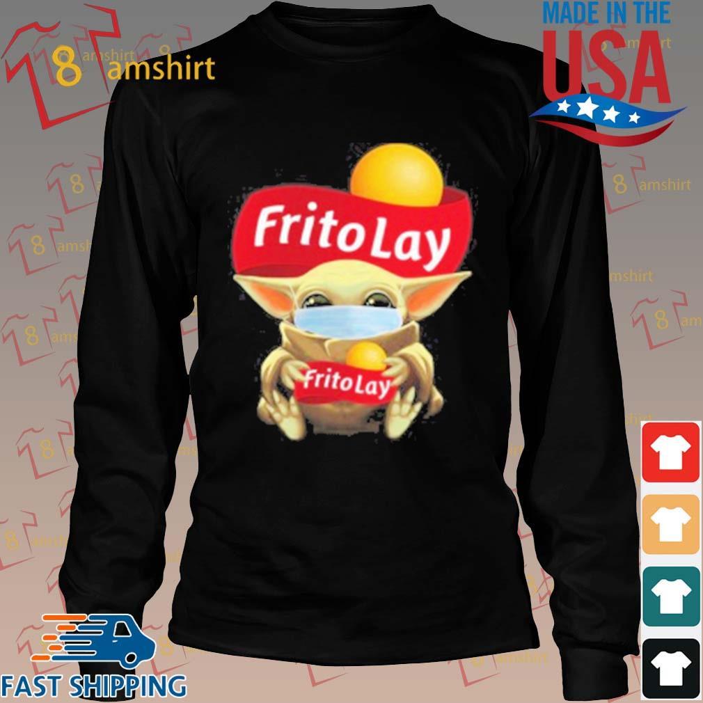 Baby Yoda Face Mask Hug Frito Lay T-Shirt Long den
