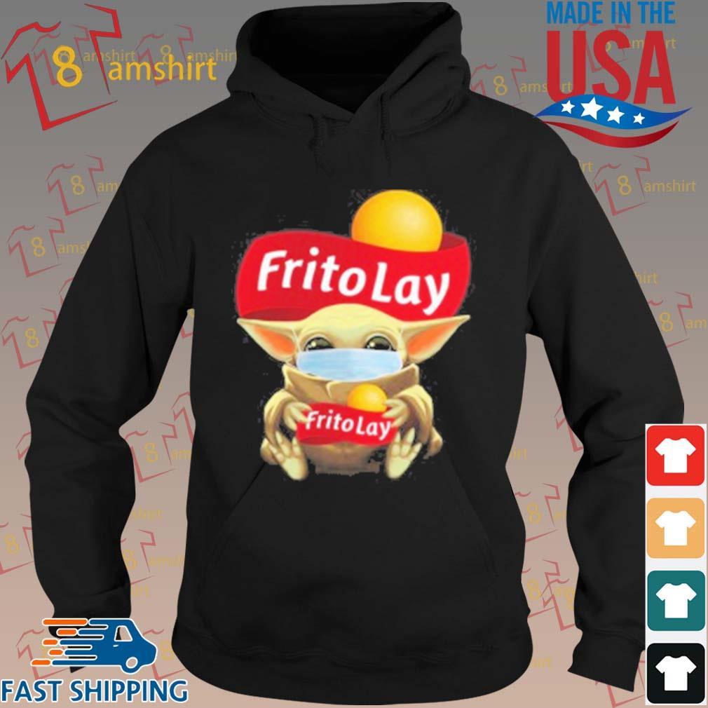 Baby Yoda Face Mask Hug Frito Lay T-Shirt hoodie den