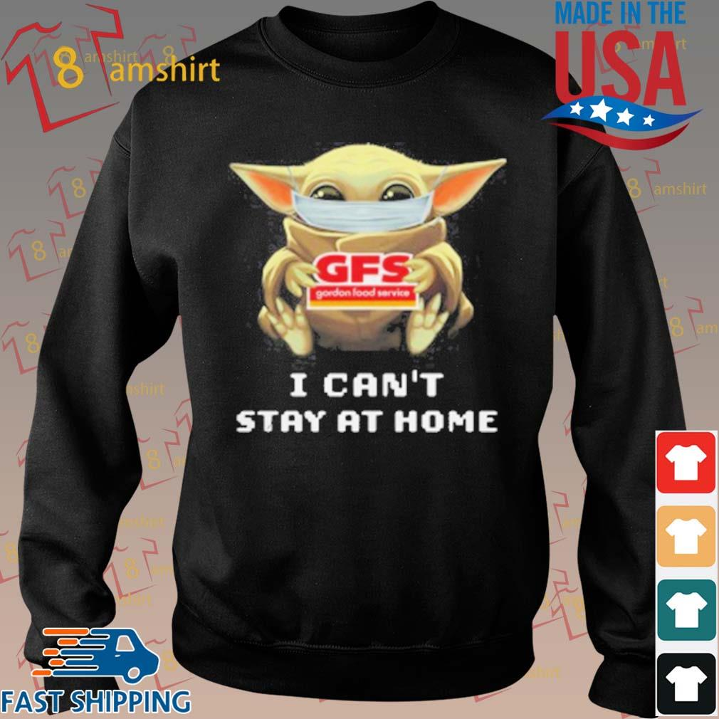 Baby Yoda Face Mask Hug Gordon Food Service I Can_T Stay At Home T-Shirt Sweater den