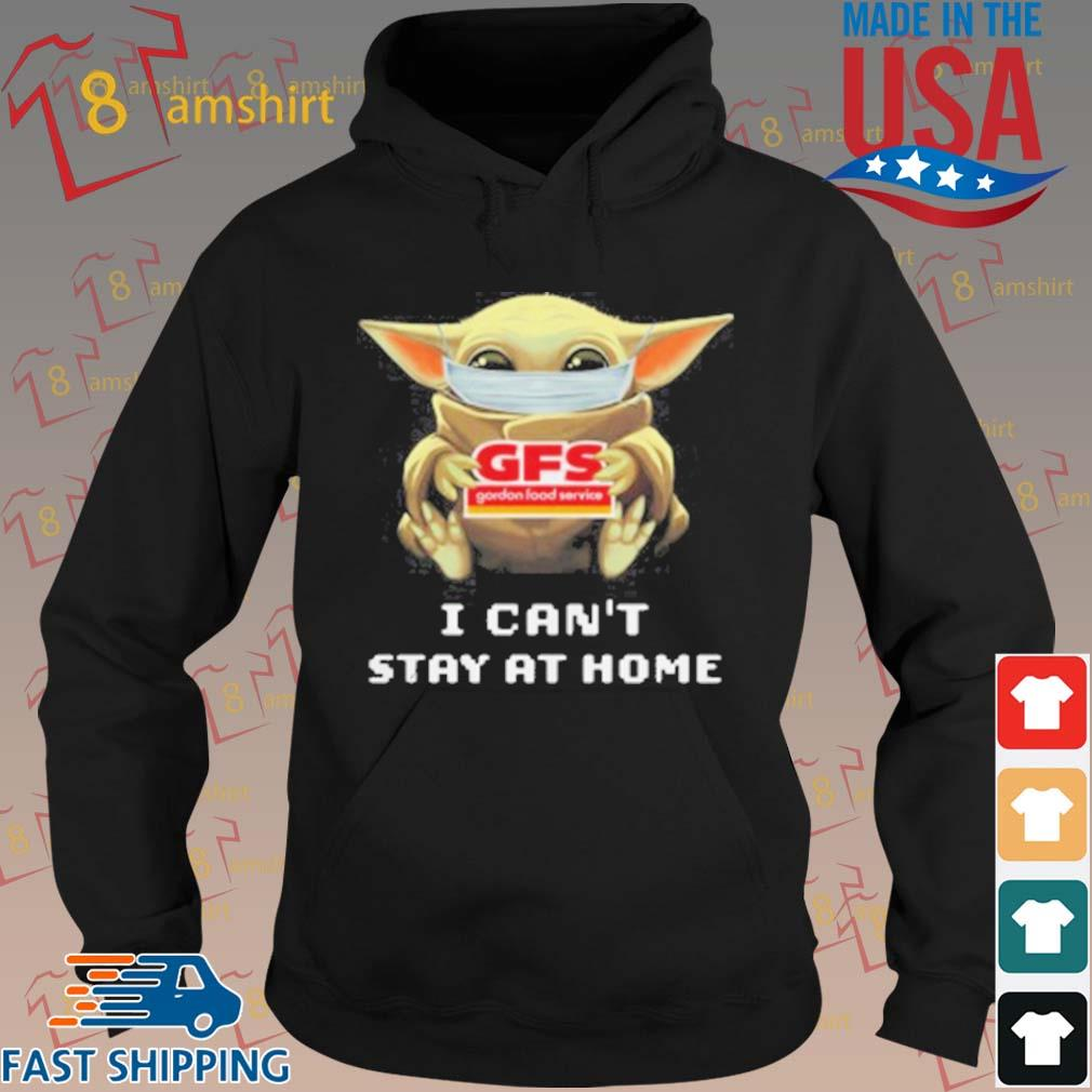 Baby Yoda Face Mask Hug Gordon Food Service I Can_T Stay At Home T-Shirt hoodie den