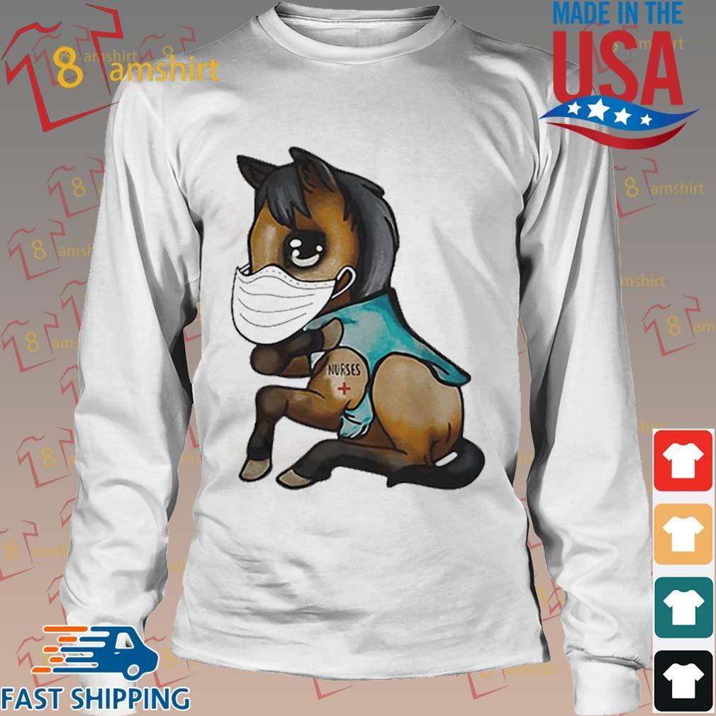 Horse mask nurse tattoos Coronavirus shirt,Sweater, Hoodie ...