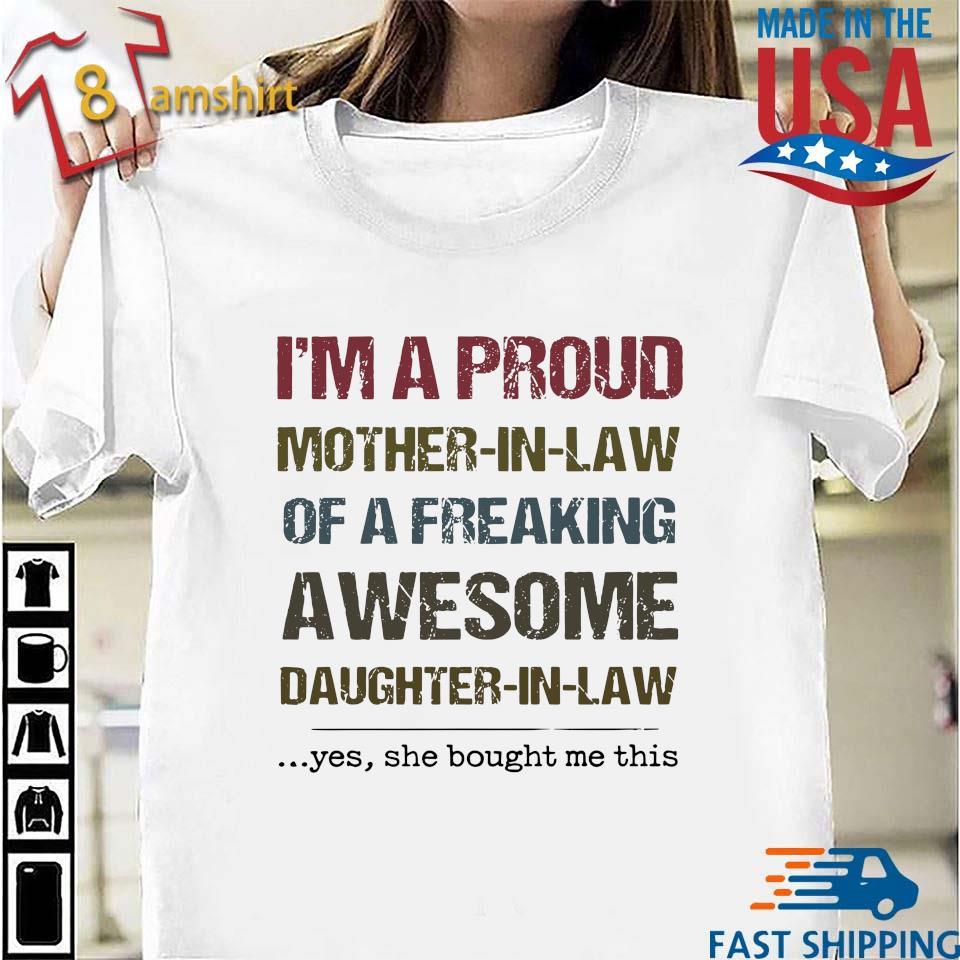 Best Freakin Daughter in-Law Ever Tee Shirt Design Long Sleeve Shirt