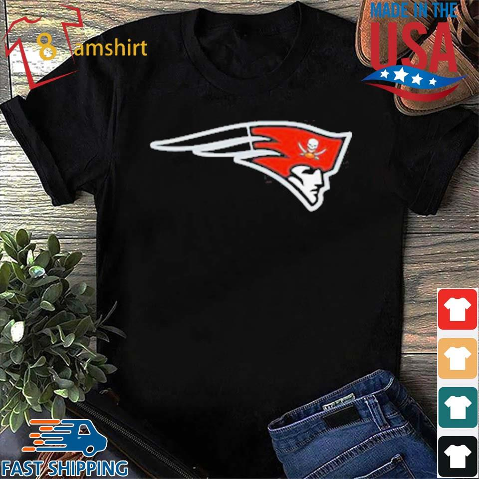 New England Patriot Tampa Bay Buccaneers Release New Logo T-Shirt