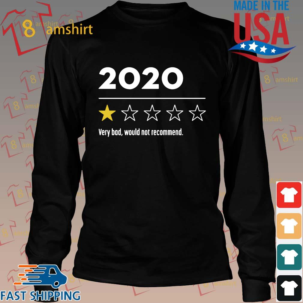 2020 Very Bad Would Not Recommend Shirt Long den