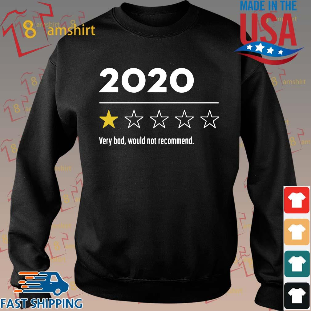2020 Very Bad Would Not Recommend Shirt Sweater den