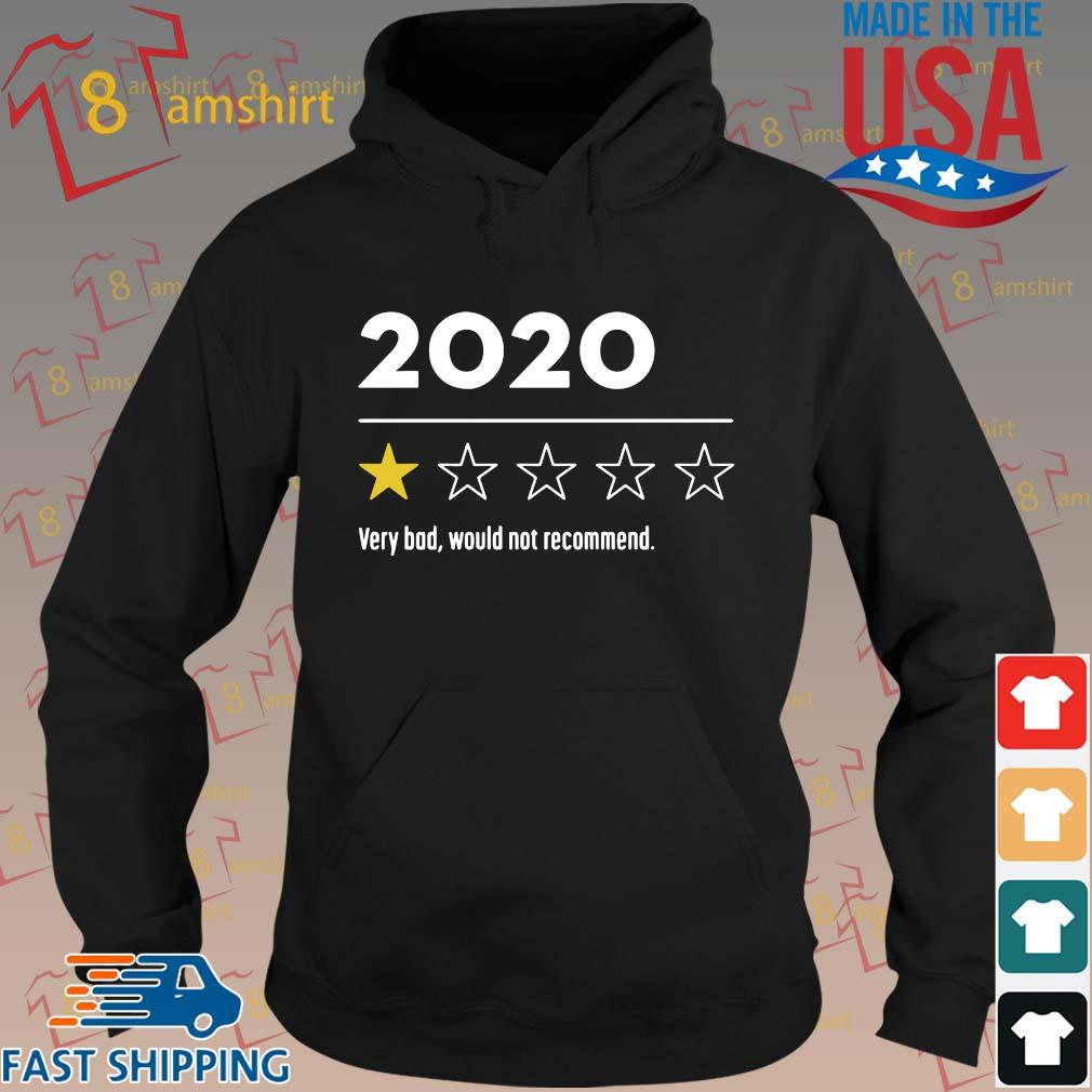 2020 Very Bad Would Not Recommend Shirt hoodie den